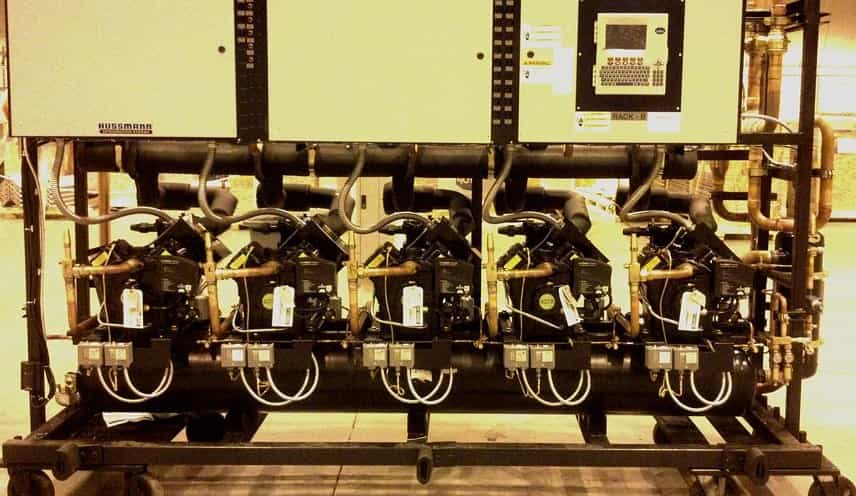 Compressor Rack (Rack Refrigeration System)