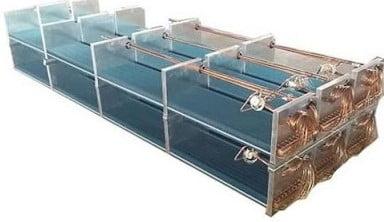 Direct Expansion Coil (Rack Refrigeration System)