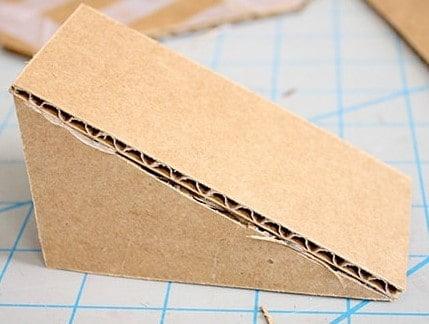 Cardboard Wedge