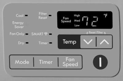 Filter Reset Panel (Kenmore Elite)