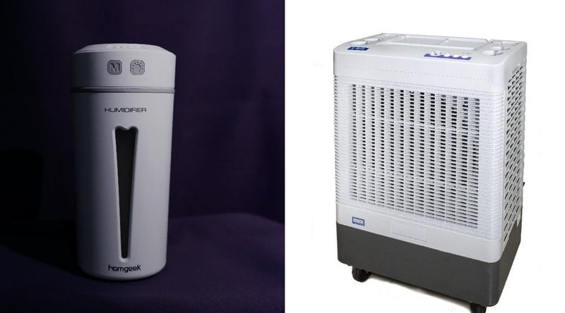 Humidifier and Swamp Cooler