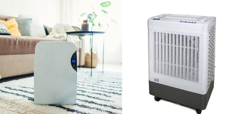 Dehumidifier and Swamp Cooler