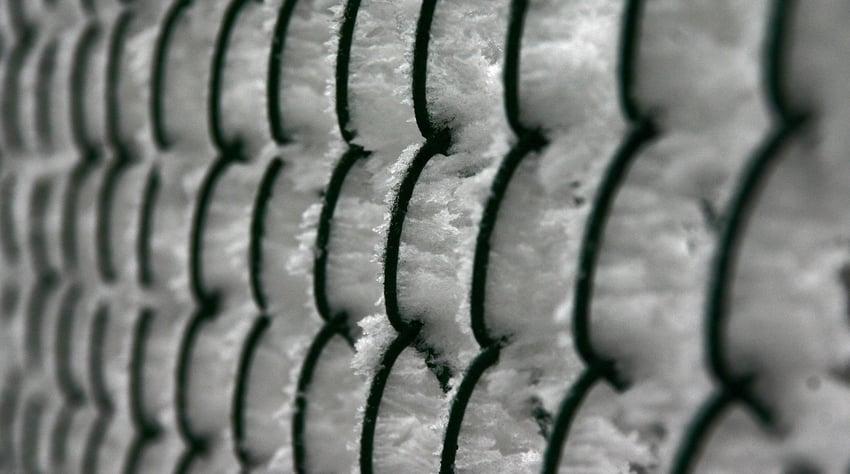 Ice in Air Gaps