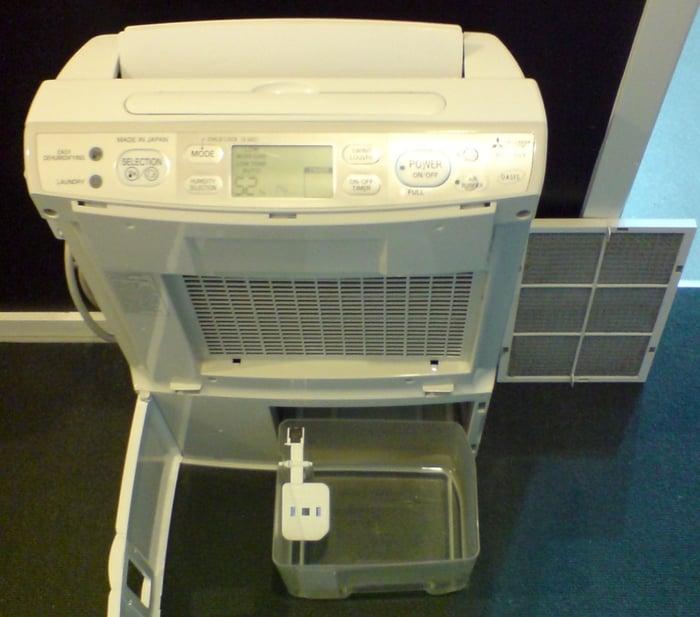 Dehumidifier Bucket Out